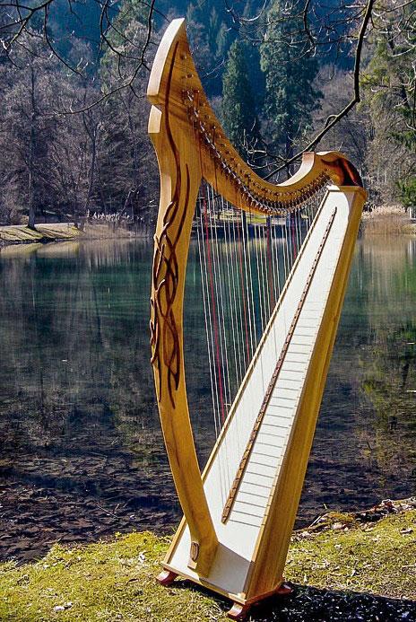 Irische Harfe Artos