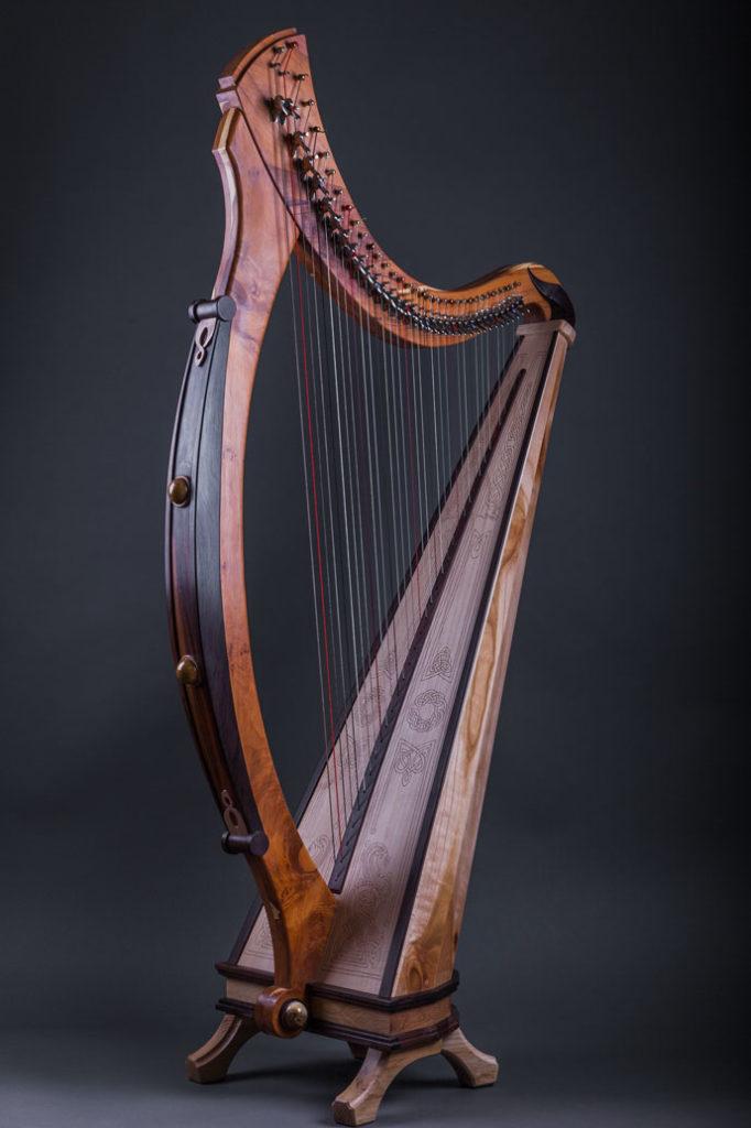 Irische Harfe Tara